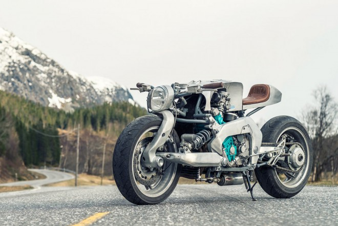 Yamaha GTS 1000 od polárního kruhu