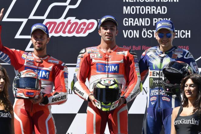 Ohlasy z pódia rakouské Grand Prix