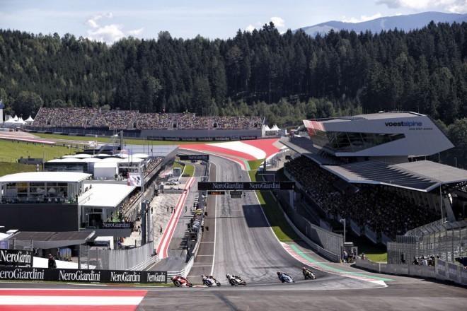 V Rakousku testovaly kubatury Moto2 a Moto3
