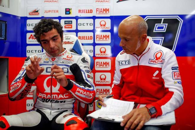 Petrucci poslal Lavertyho k zemi a v Brnì pøijde o tøi pozice na startu