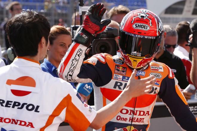 GP �esk� republiky � Pole position z�skal v nov�m rekordu M�rquez