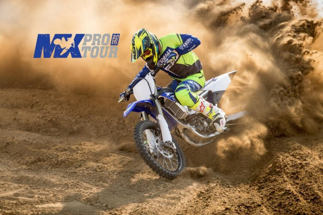 Otestujte motokrosy Yamaha 2017 na MX Pro Tour