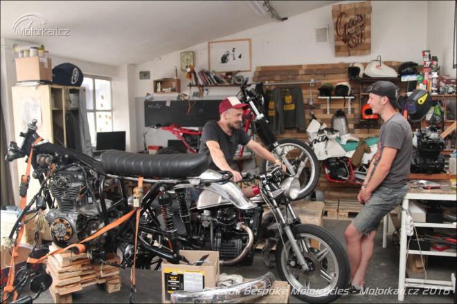 Gas&Oil Bespoke Motorcycles: Punk´s not dead