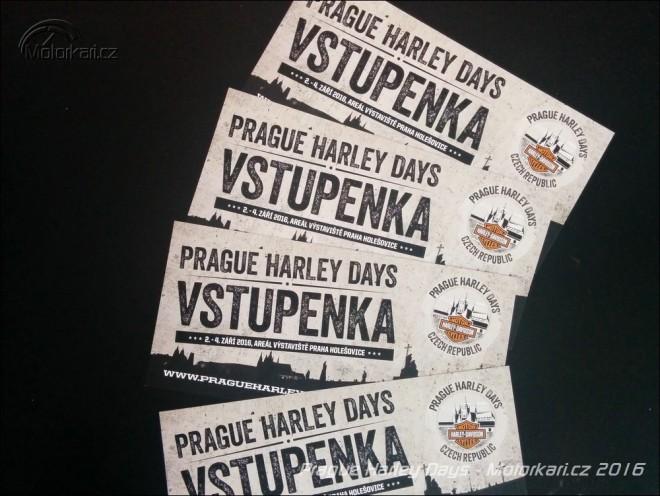 Vyhrajte 4 lupeny na Prague Harley Days