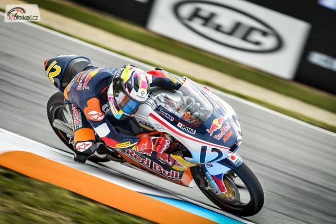 Filip Salaè po závodech Red Bull Rookies Cupu v Brnì