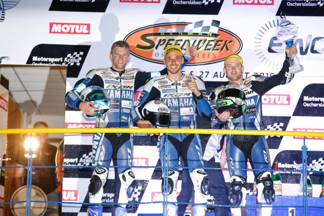 8H Oschersleben – Závod vyhrál tým GMT94 Yamaha, titul patøí SERT
