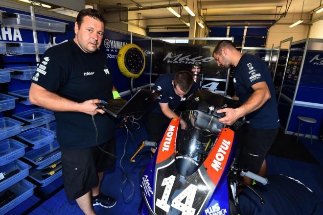 Výborné páté místo pro Yamaha Maco Racing Team