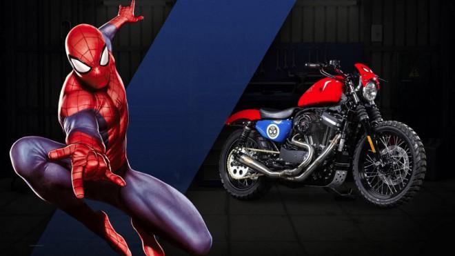 Harley-Davidson pro superhrdiny od Marvelu