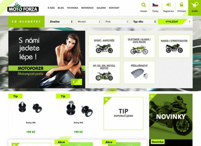 Motoforza má nový web