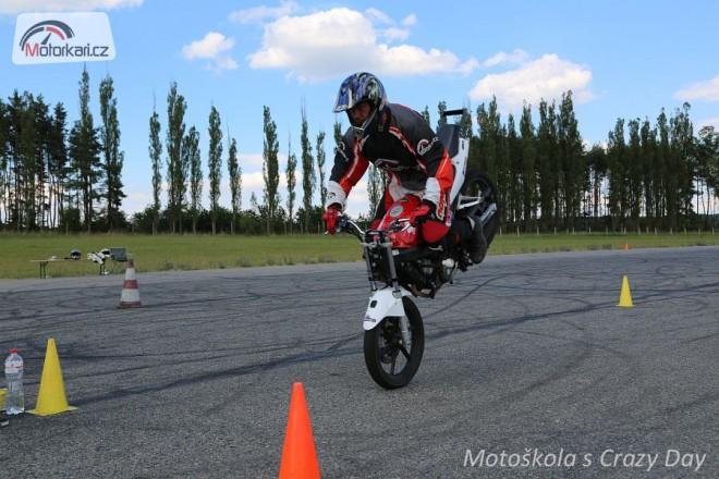 Crazy Day zve na poslední letošní kurs stuntridingu