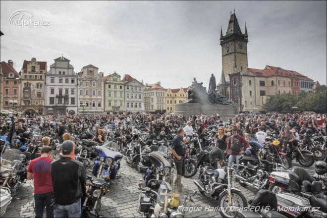 Prague Harley Days 2016: 17 400 návštìvníkù a 4 300 motocyklù