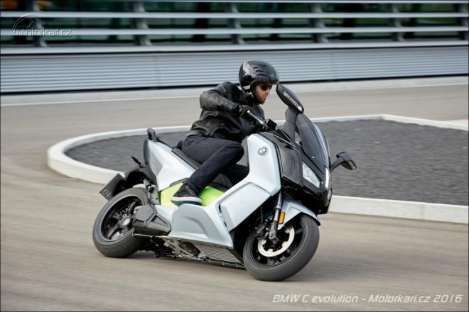 BMW prodlužuje dojezd elektroskútru C evolution