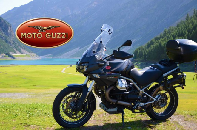80 tis�c kilometr� s Moto Guzzi Stelvio 1200