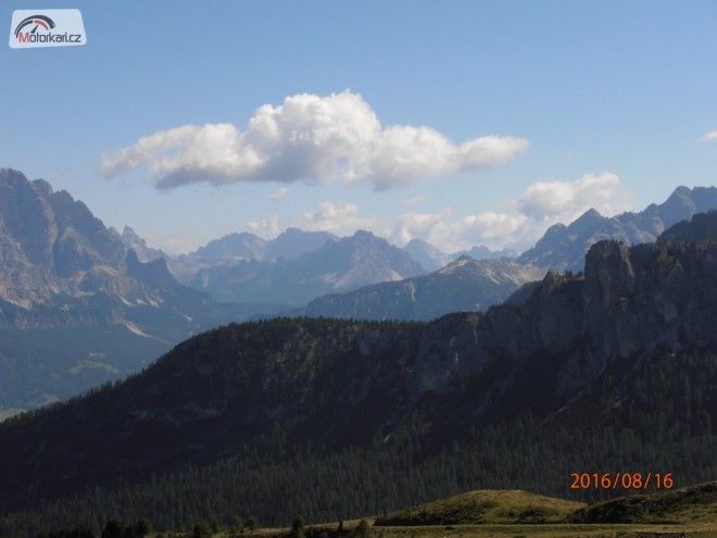 První alpská dovolená
