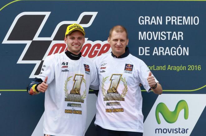 Brad Binder � Mistr sv�ta Moto3
