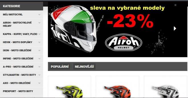 Paolo má nový e-shop a nabízí slevu 23%