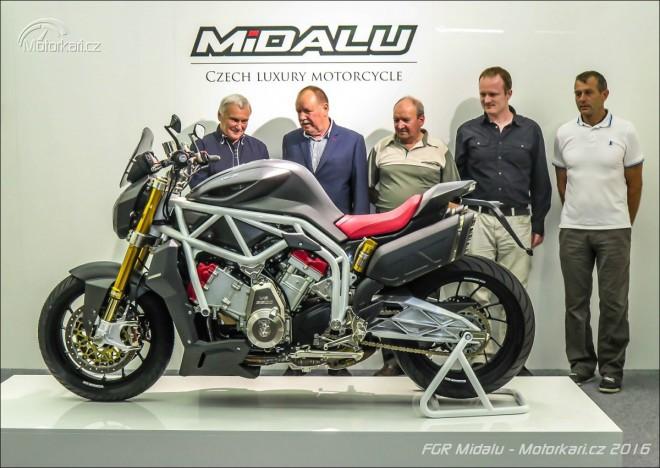 FGR pøedstavuje prodejní verzi Midalu 2500 V6