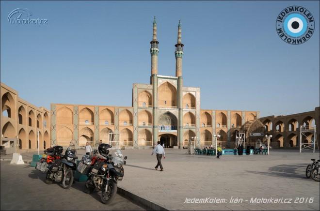 JedemKolem: Íránská pouštní mìsta a Teherán