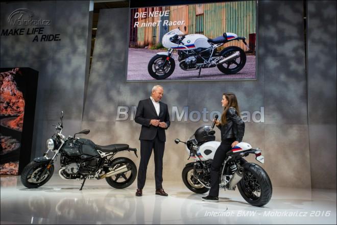 Intermot BMW: 2 x nové R NineT, vylepšené S1000R a K1600GT