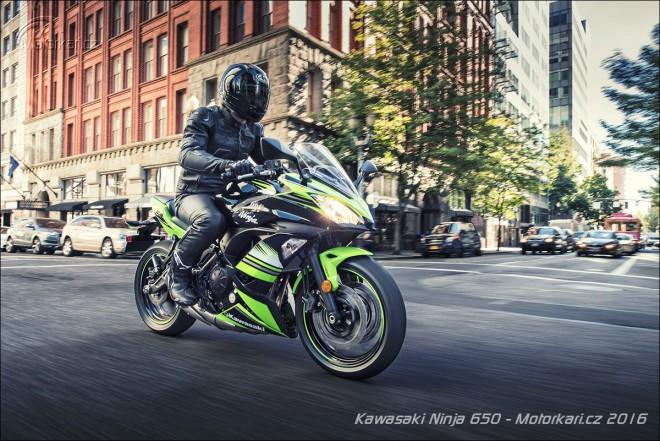 Intermot Kawasaki: Ninja 650 nahrazuje dosavadní ER-6f