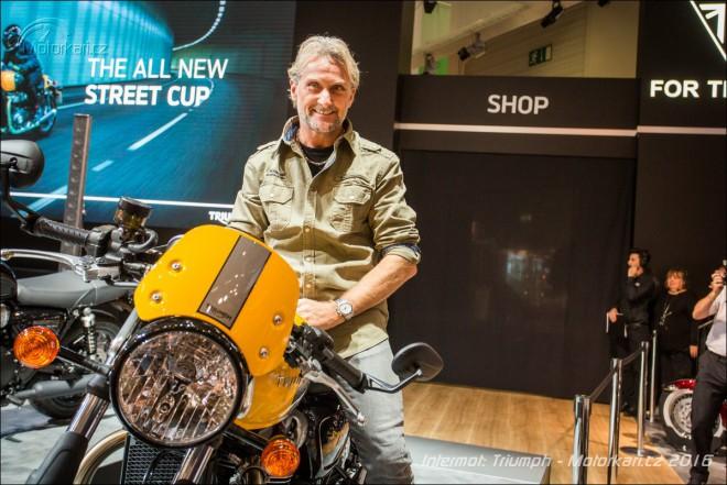 Intermot Triumph: nový Street Cup, Bonneville T100 a T100 Black