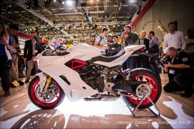 Intermot: Ducati pøedstavila nový SuperSport a verzi S