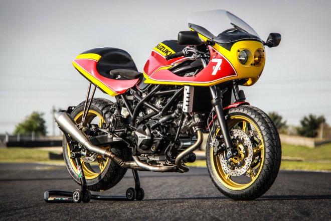 Suzuki SV650 jako café-racer? Nebo radši scrambler?