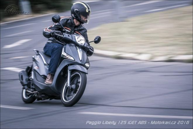 Piaggio Liberty 125 iGet ABS: pohodlnìjší a silnìjší