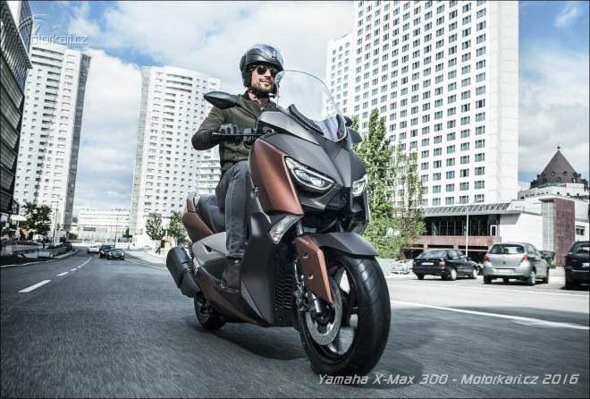 Nov� Yamaha X-MAX 300: v�c ne� p�l T-MAXe
