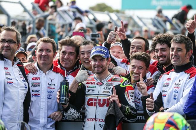 GP Austrálie – Plný poèet bodù získal Crutchlow, Lüthi a Binder