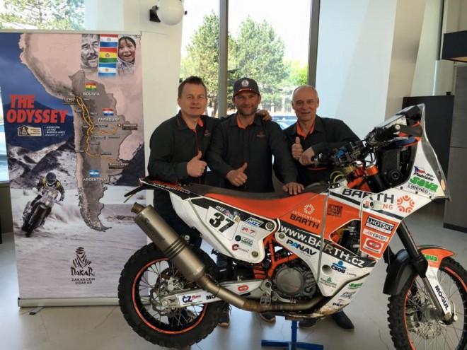 BARTH Racing se chystá na Dakar se 4 jezdci