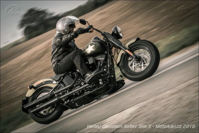 Harley-Davidson Softail Slim S: Válka svìtù!
