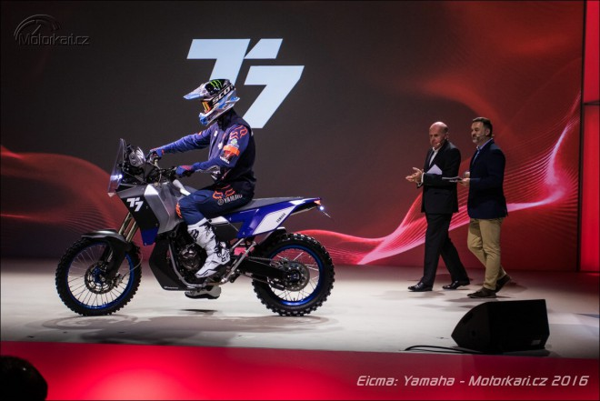 Yamaha novinky: enduro koncept T7, nový TMAX a XSR900 Abarth