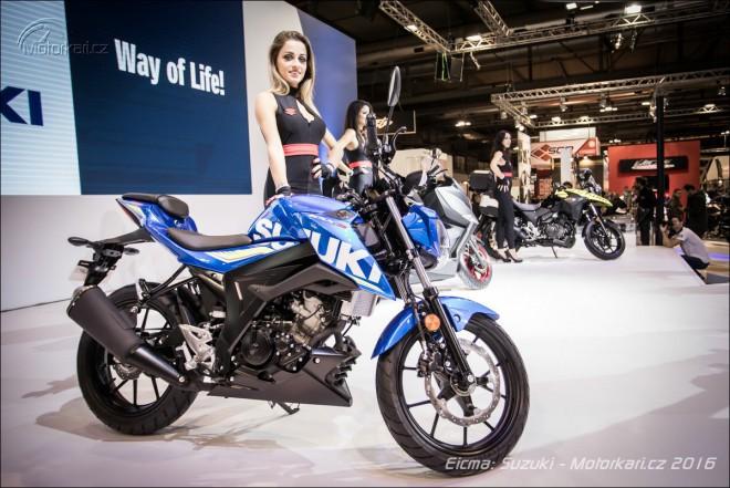 Suzuki novinky: malý V-Strom 250, GSX-250R a GSX-S 125