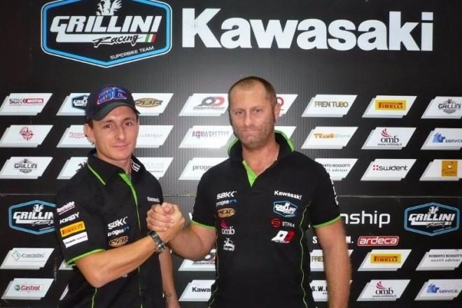 Badovini podepsal s týmem Grillini a vrací se do SBK