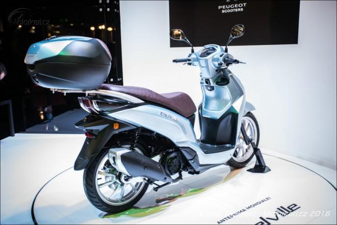 Eicma: Peugeot má nový skútr Belville 125