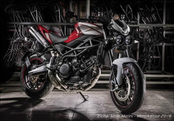 Eicma: Moto Morini má nové Corsaro 1200ZZ