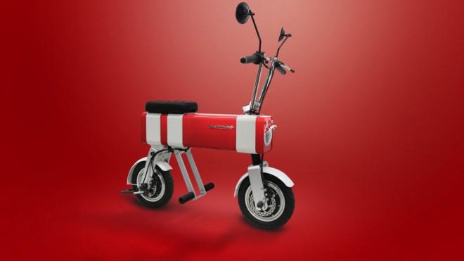 Motochimp – malá elektrická motorka do pøeplnìných mìst