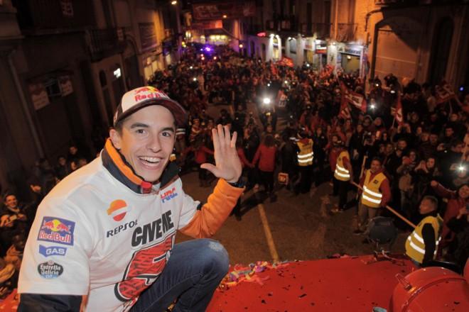 Márquez slavil pátý titul mistra svìta doma s fanoušky