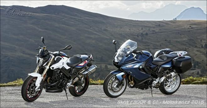 BMW modernizuje dvouválce F800R a GT