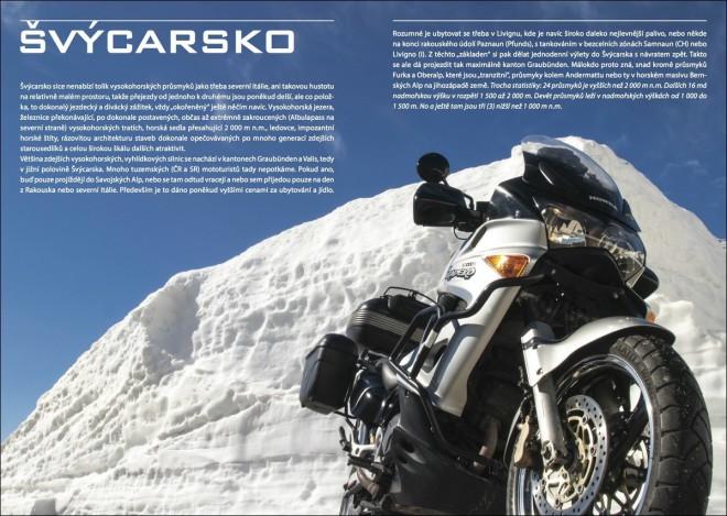 Hory a zatáèky 2017: Alpský motorkáøský prùvodce