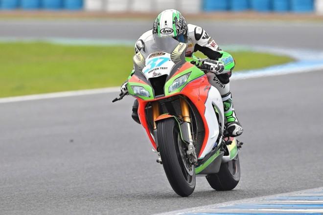 První test superbiku v novém týmu dopadl výbornì, øíká Ježek