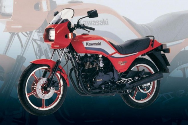 Kawasaki GPZ305 Belt Drive: Mini Top Gun