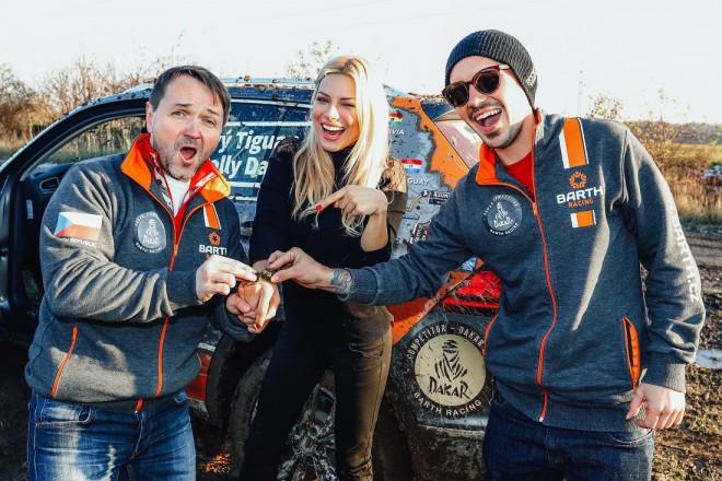 Podmol se spojil s BARTH Racing a míøí na Dakarskou rallye