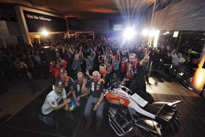 Tým BARTH Racing slavnostnì pøedstavil sestavu pro Rally Dakar 2017
