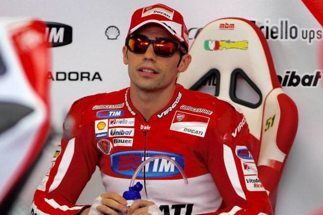 Na mokré dráze zajel v pátek v Jerezu nejrychleji Pirro