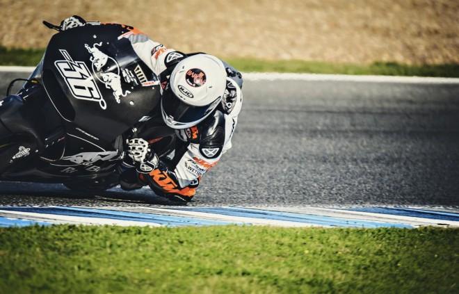 V Jerezu testoval s KTM Kallio a Smith
