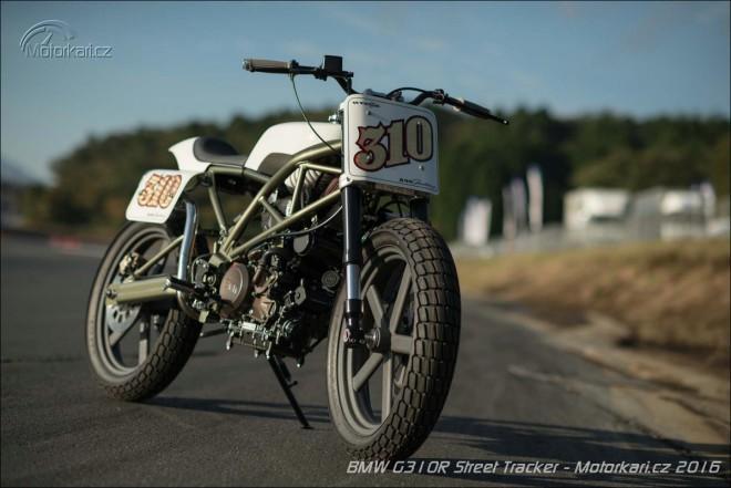 BMW G310R od Wedge motorcycles: japonský street tracker