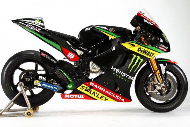 Tým Monster Yamaha Tech3 podpoøí Barracuda