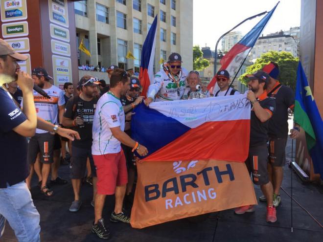 Dakar: On-line rozhovor s jezdci BARTH Racing